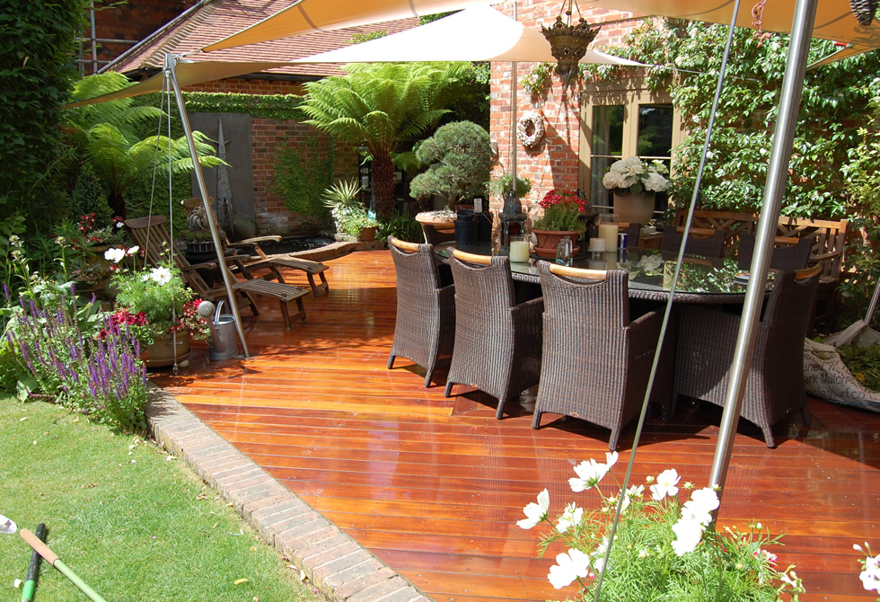 Quality Outdoor Wooden Decking Garden Furniture Andrew Gibbens Furniture Ltd